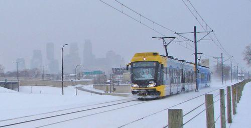 Hiawatha in snow
