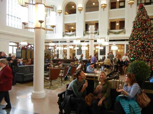 Denver Union Station inside